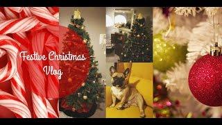 Festive Christmas Vlog #VLOGMAS