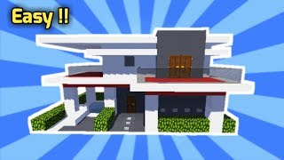 Tutorial Cara Membuat Rumah Modern [Tutorial Minecraft #5]