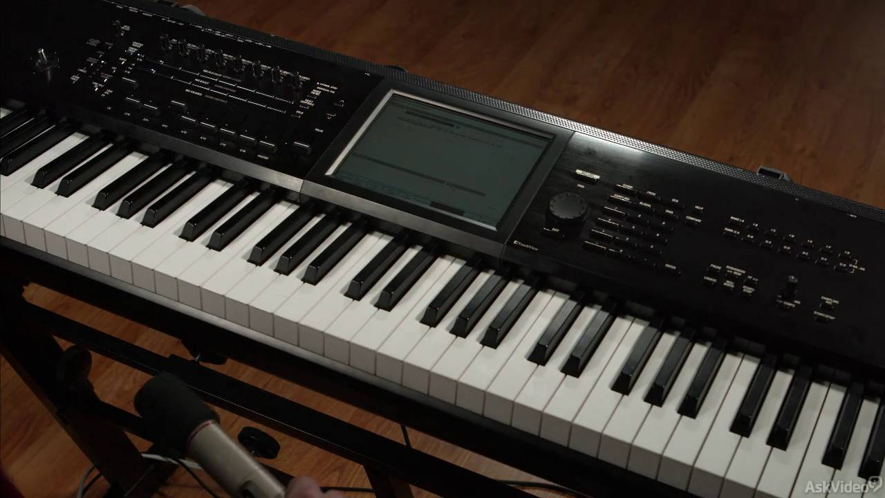 How To Use Korg Kronos To Sample, Record & Edit Audio : Ask