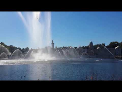 Efteling exiting show , Netherlands family trip 2016
