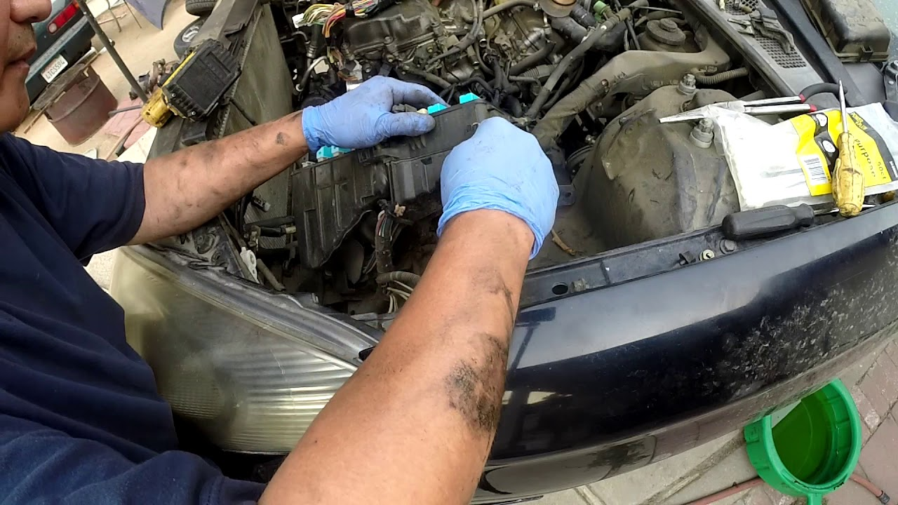 2004 lexus rx330 engine cover removal
