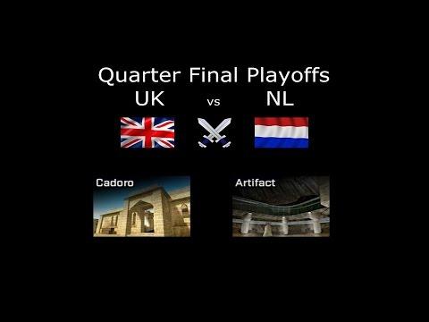 United Kingdom VS. Netherlands ESL Nations Challenge 2016 Playoffs Quarter Finals