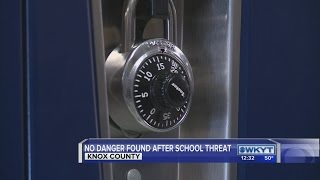 School officials in Knox County investigate unsubstantiated threat
