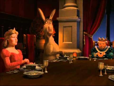 Shrek 2-The Dinner Scene
