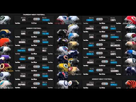 2013 NFL Season Week 2 Preview & Picks [HD]