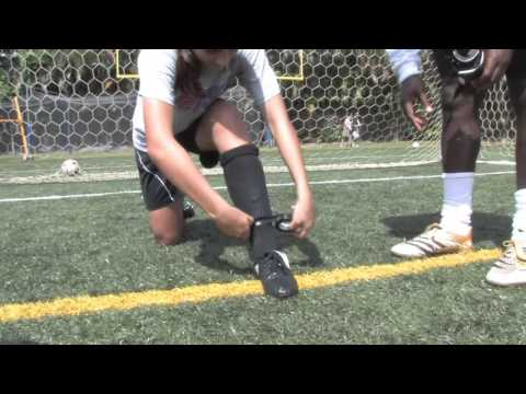 How To Put On Soccer Shin Guards