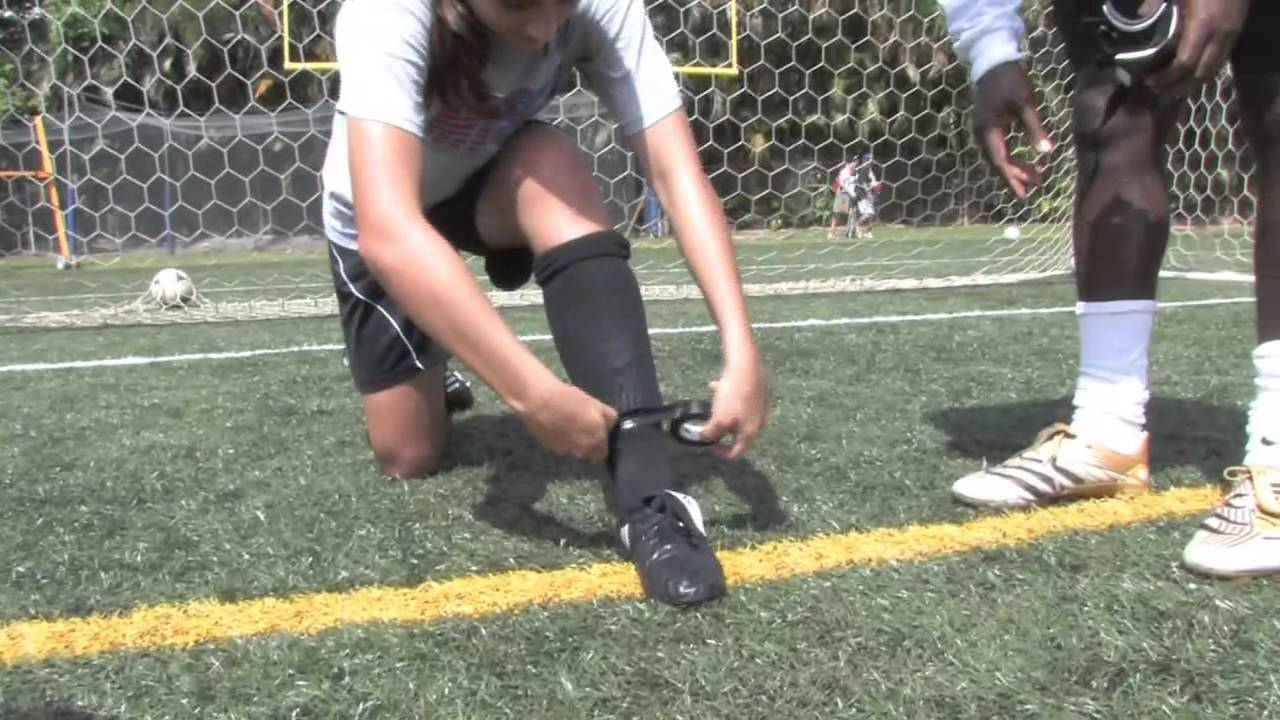 Socks soccer shin guards how to wear pictures