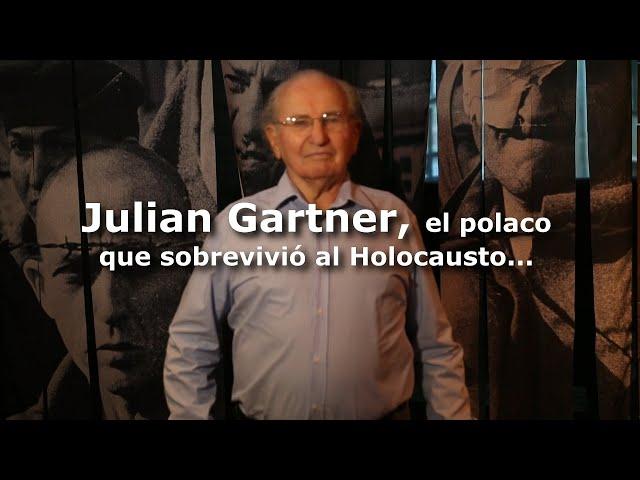 Gartner, el polaco que sobrevivió a cinco campos de concentración