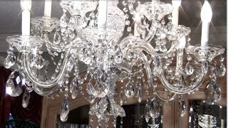 How to Clean a Crystal Chandelier Update