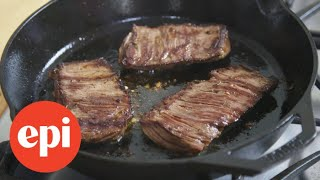 Grilled Skirt Steak with Jalapeno Lime Marinade | Epicurious thumbnail