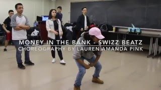 Money In The Bank - Swizz Beatz | Lauren Amanda Pink Choreography | ScDCollective