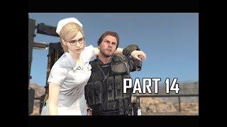 METAL GEAR SURVIVE Walkthrough Part 14 - Chris (PS4 Pro 4K Let's Play)