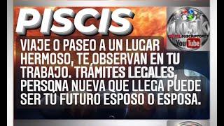 PISCIS VIAJE O PASEO A UN LUGAR HERMOSO, PERSONA QUE LLEGA PUEDE SER TÚ FUTURO ESPOSO O ESPOSA.