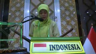 Video QORIAH TERBAIK I MTQ INTERNASIONAL 2014 INDONESIA HJ  MIFTAHUL JANNAH download MP3, 3GP, MP4, WEBM, AVI, FLV Agustus 2018