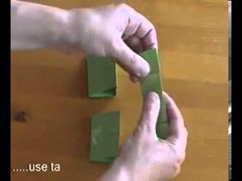 кубик - рубик из бумаги mp4