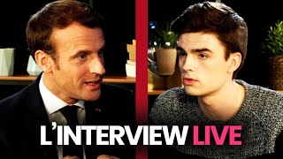 L'interview YouTube d'Emmanuel Macron (replay intégral)