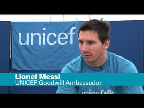 UNICEF: Goodwill Ambassador Lionel 'Leo' Messi visits earthquake-ravaged Haiti