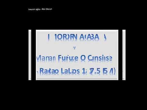 Download Imoran agba  Abo Olorun