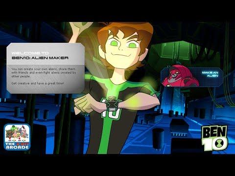 Ben 10: Alien Maker - Create Your Very Own Omnitrix-Style Alien (Cartoon Network Games)