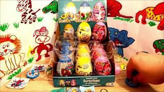 Avengers Minions My Little Pony 18 Kinder Surprise Eggs