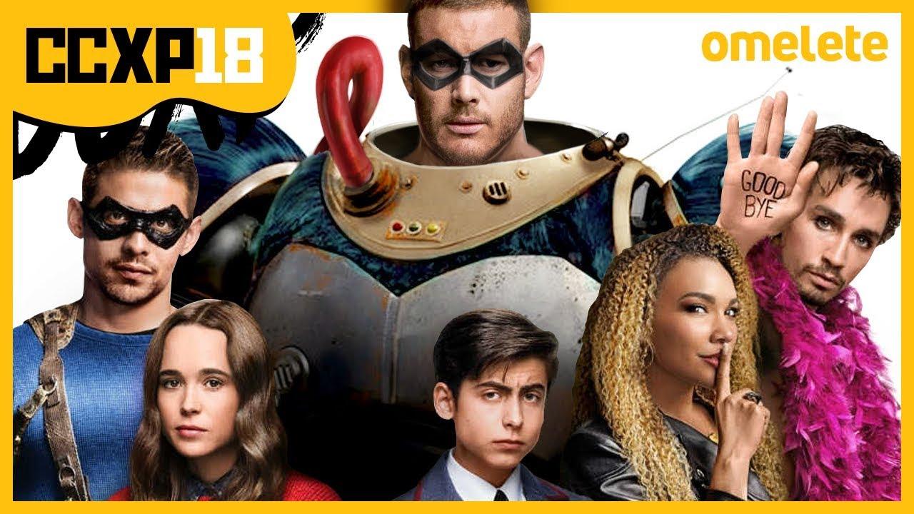 Heróis Da Netflix Umbrella Academy Na Ccxp Youtube