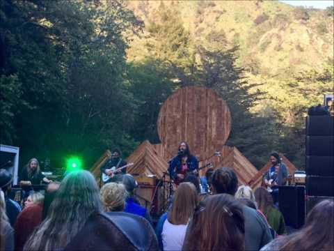 Chris Robinson Brotherhood 4-21-17 Fernwood Resort Big Sur,