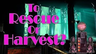 Bioshock - The Moral Choice to Harvest or Rescue Little Sisters | Should You Rescue or Harvest Them?