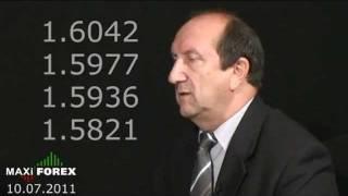 Прогноз на неделю 10.07.11 - Рынок Форекс (Forex) - MaxiForex - HD