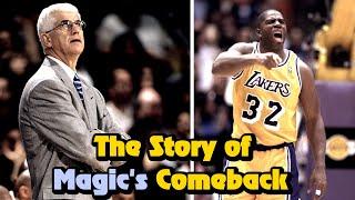 The Untold Story of Magic Johnson's 1996 Comeback Season