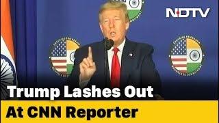 Trump vs CNN Reporter: The Big Spat At Delhi Press Conference