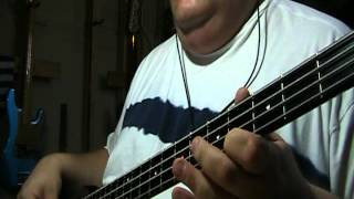 The Bangles Manic Monday Bass Cover