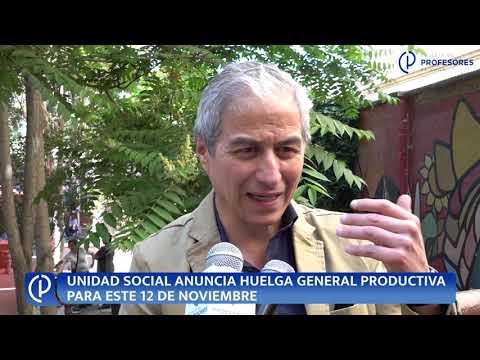 Profesores de Chile convocan dos días de paro nacional de educación