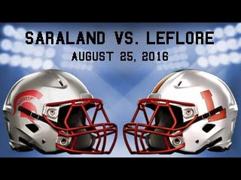 Saraland vs LeFlore 2016