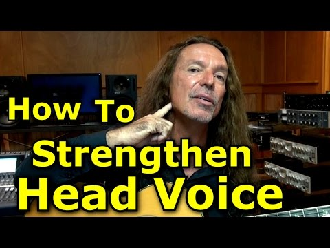 Voice Lessons -  Head Voice Exercises - How To Strengthen Head Voice - Ken Tamplin Vocal Academy