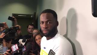"""Draymond Green on the team's mood """"Kind of pissed off"""""""