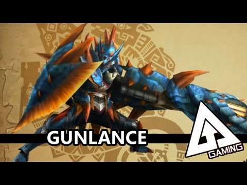 Monster Hunter 3 Ultimate Gunlance Tutorial