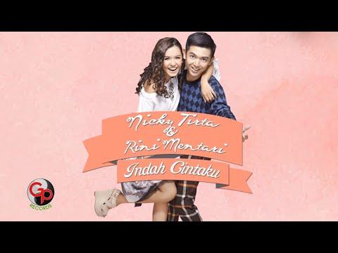 NICKY TIRTA & RINI MENTARI - Indah Cintaku [Video Lyric]