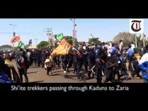 Video: Shi'ite march in Kaduna