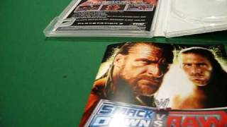WWE Smackdown vs Raw 2009 PS3 unboxing / review