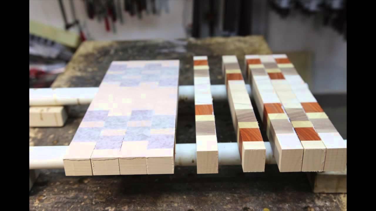 how to make an end grain cutting board., Kitchen design