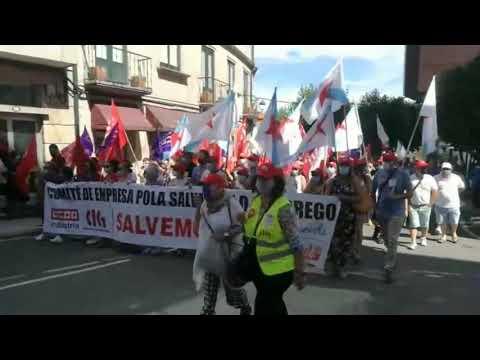 Máis de 3.000 persoas volven manifestarse no Grove pola continuidade de Thenaisie Provote