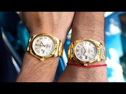 Rolex Day-Date 40 Vs Day-Date II Review – The Presidential Debate Continues!