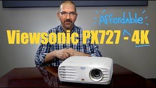 ViewSonic PX727-4K 4K Ultra HD Home Projector