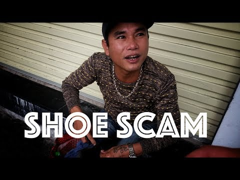 SCAMMED IN HANOI VIETNAM by a shoe repairman