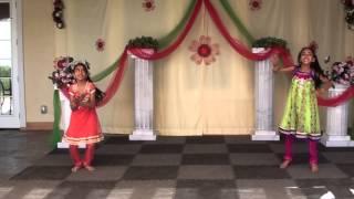 Haarika and Eesha Dancing for Dolu Baaje song