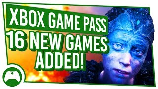 Xbox Game Pass Update: 16 NEW Games added to XBOX GAME PASS
