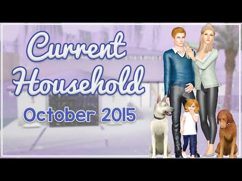 The Sims 3 Current Household: The Cooper Family (October 2015)