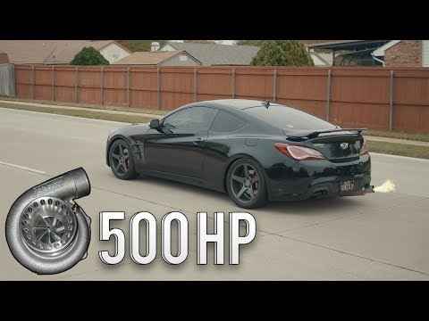 500whp Genesis 3.8 V6 Turbo