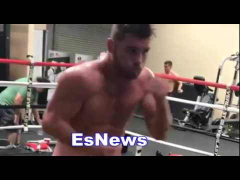 Canelo Is In Amazing Shape Ready To KO GGG Tonight EsNews Boxing