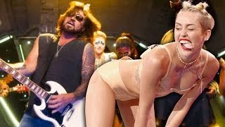 "Billy Ray Cyrus Mocks Miley Cyrus Twerking in ""Achy Breaky 2"" Music Video"